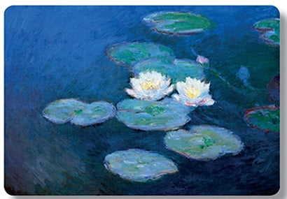 Monet Water Lilies NYMPHEAS (blue) Placemat