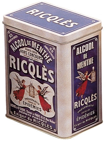 Ricqles Large Tin Canister