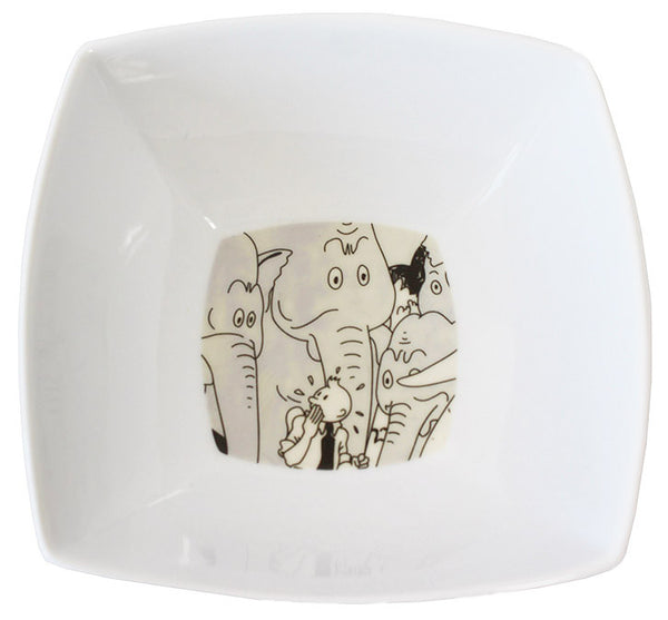 Square Elephant Bowl