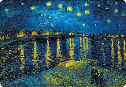 Van Gogh Starry Night  Over the Rhone Placemat