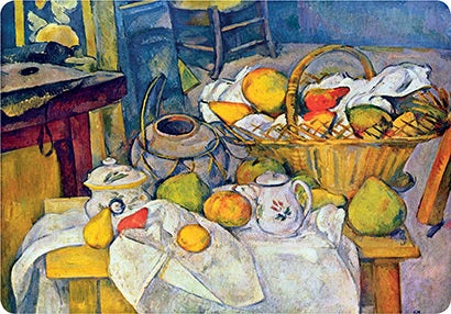 Cezanne Still Life  with Basket Placemat