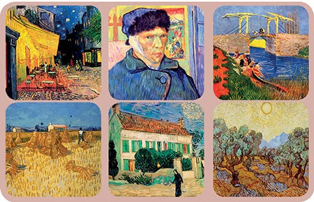 Van Gogh Coasters Edition 2