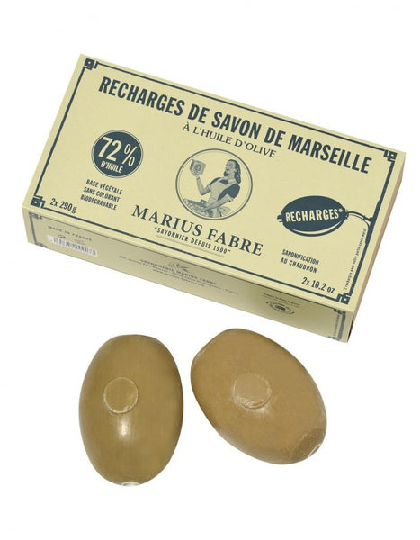 Marseille Soap Wall Mount - 290g <br> (2 Refills)