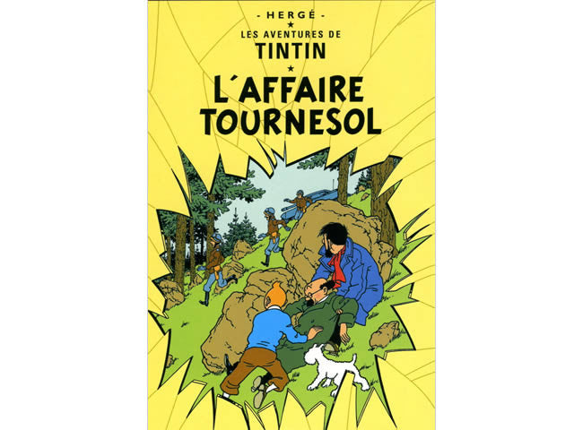 Tintin L'Affaire Tournesol Poster