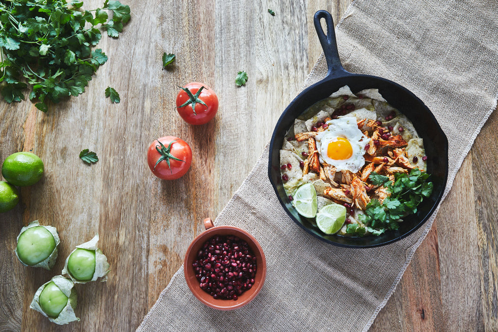 Paleo-Friendly Chilaquiles Verde