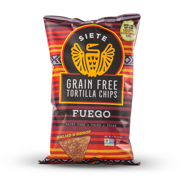 Fuego Grain Free Tortilla Chips 4oz - 6 Bags