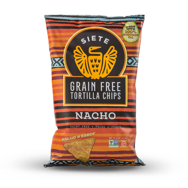 Nacho Grain Free Tortilla Chips 4oz - 6 Bags