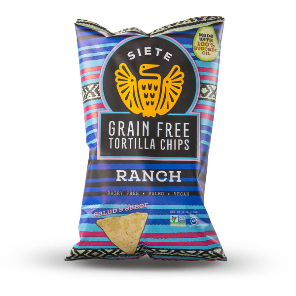 Ranch Grain Free Tortilla Chips 4oz - 6 Bags