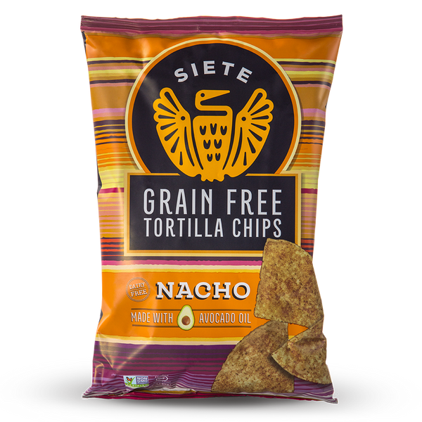 Nacho Grain Free Tortilla Chips 5oz - 6 Bags
