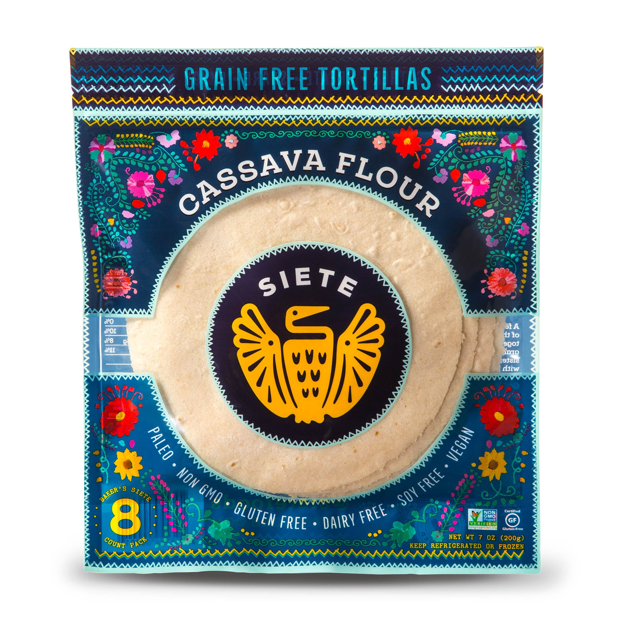 Cassava Tortillas - 6 Packs