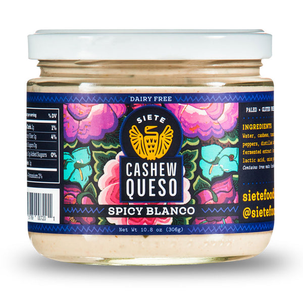 Spicy Blanco Cashew Queso
