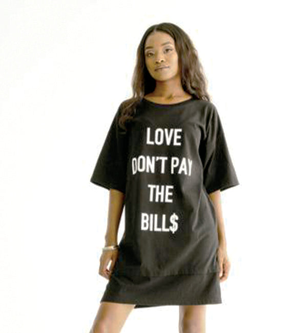 Love Don't Pay The Bill$