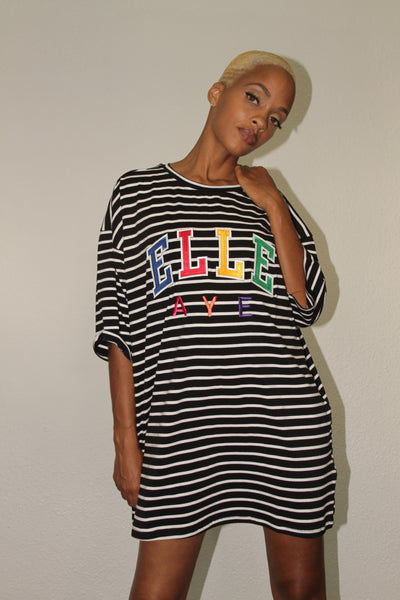 EllE AYE 'RAINBOW' Striped Shirt