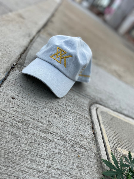 Denim 'EK Logo' Dad Cap