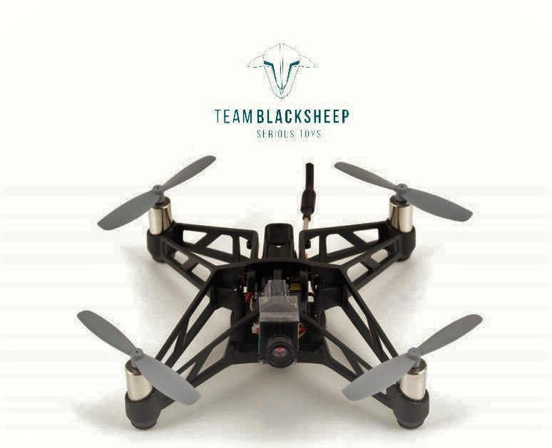 Team BlackSheep TBS X-RACER MICRO FPV RACER BNF SPEKTRUM KIT