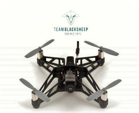Team BlackSheep TBS X-RACER MICRO FPV RACER BNF Frysky KIT