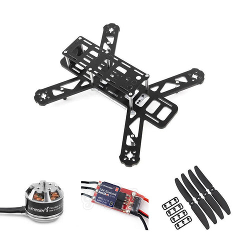 LUMENIER QAV250 G10 Mini FPV Quadcopter ARF