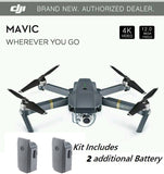 DJI Mavic Pro Folding Drone - 4K Stabilized Camera, Active Track, Avoidance, GPS