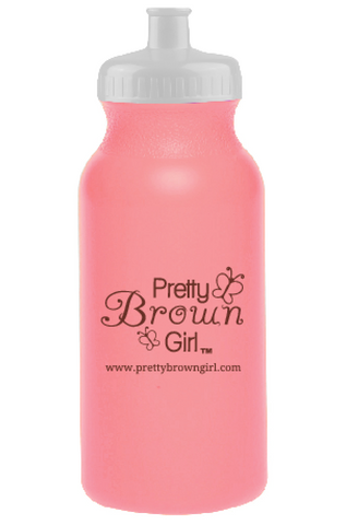 Pretty Brown Girl Water Bottle