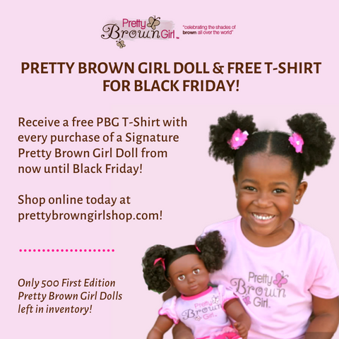 Black Friday Special (PBG Doll & Free T-Shirt)
