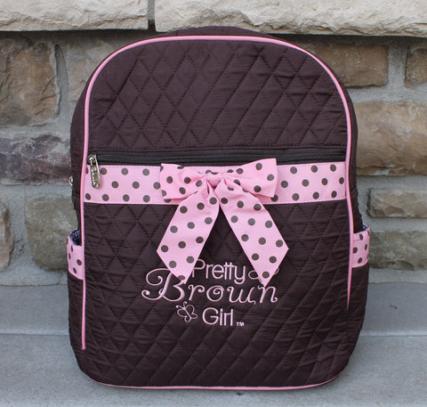 Pretty Brown Girl Backpack
