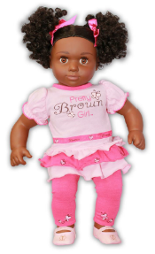 The Pretty Brown Girl Doll