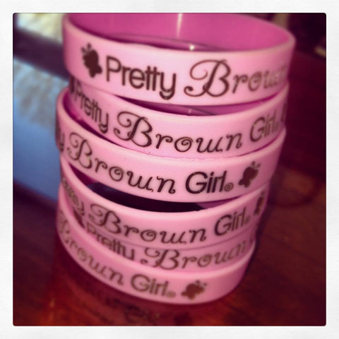 Pretty Brown Girl Wristband Bundle