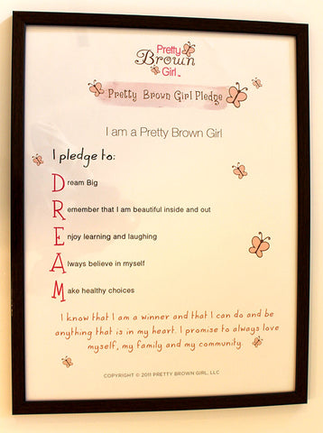 Pretty Brown Girl Poster