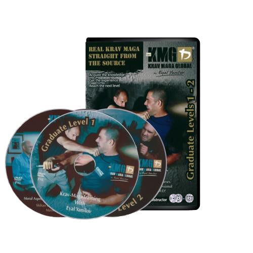 KMG Graduate Level 1 and 2 DVD Set