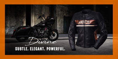 Bike Leather Jackets | Black Leather Jacket - Divine Leather USA