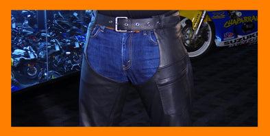 Motorcycle Chaps | Leather  Chaps - Divine Leather USA