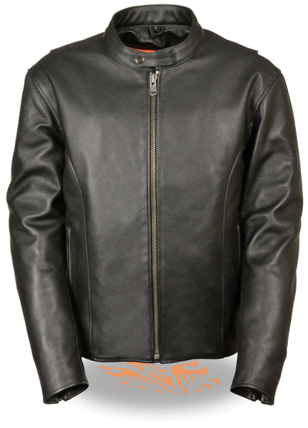 Men's Classic Scooter Jacket W/ Side Zippers