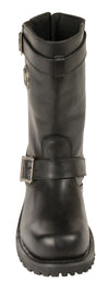 Mens 11 inch Classic Engineer Boot - Divine Leather USA - 3
