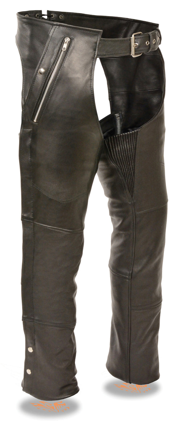 Men's Four Pocket Thermal Lined Chap - Divine Leather USA - 1