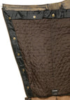 Men's Distressed Brown Four Pocket Thermal Lined Chap - Divine Leather USA - 2