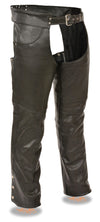Men's Classic Chap W/ Jean Pockets - Divine Leather USA - 2