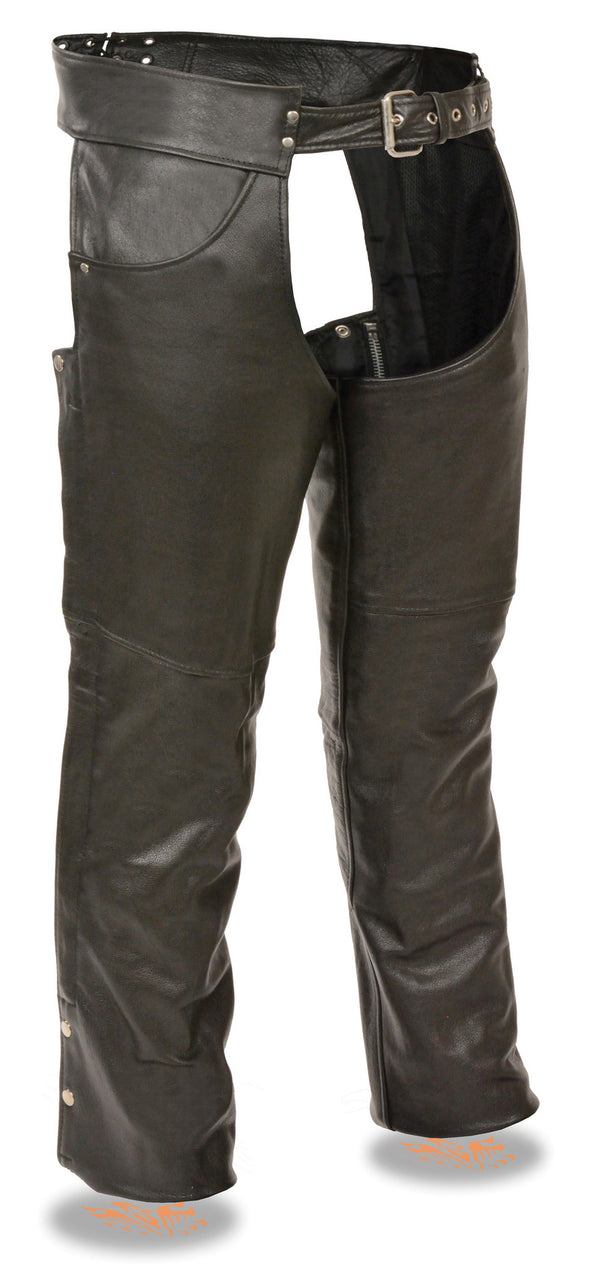 Men's Classic Chap W/ Jean Pockets - Divine Leather USA - 1