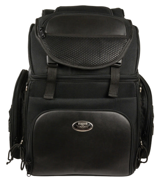 Extra Large Two Piece Studded Nylon Touring Pack