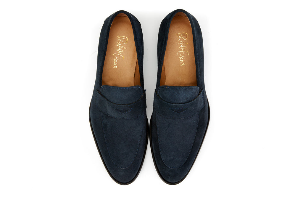 1558c2b618b Mens Italian Leather Penny Loafer