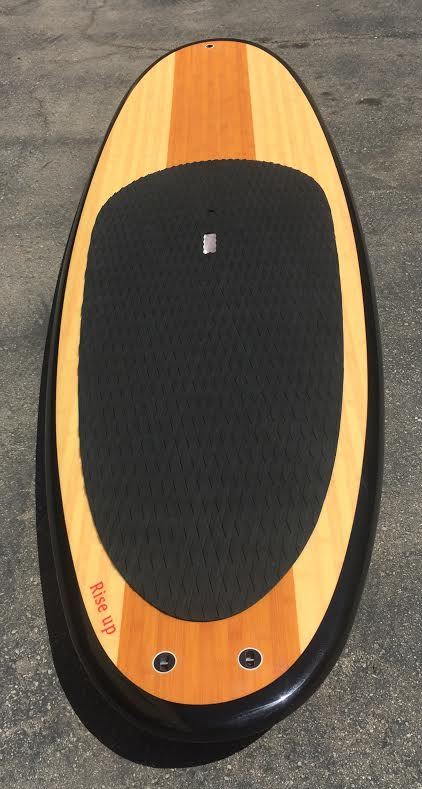 NEW Paddle Boards, SUP bamboo finish