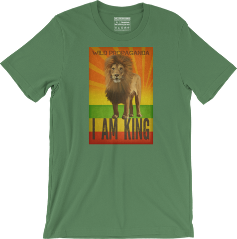 Lion - I am king - Men's/Unisex T-shirt