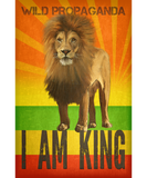 Lion - I Am King - Canvas Tote