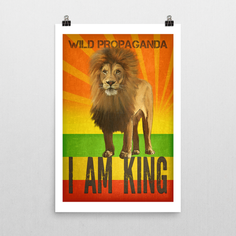 Lion - I AM KING - Poster