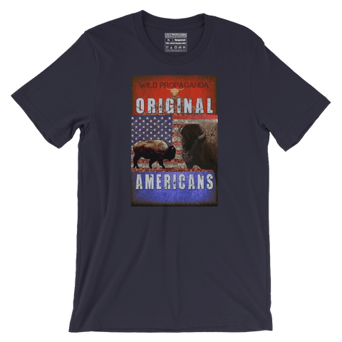 Buffalo - Original Americans - Men's/Unisex T-shirt