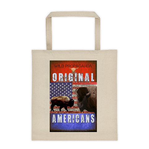 Buffalo - Original Americans - Canvas Tote