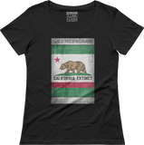 Grizzly - California Extinct - Women's scoop neck T-shirt