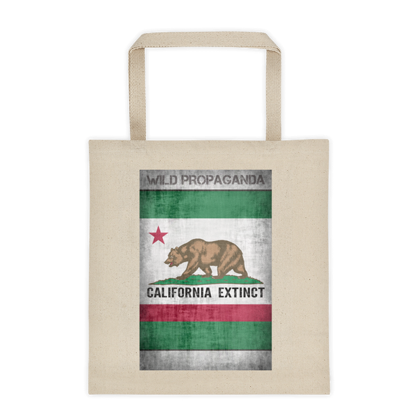 Grizzly - California Extinct - Canvas Tote