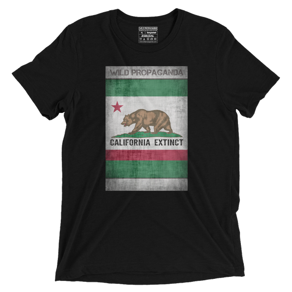 Grizzly - California Extinct - Vintage Black Tee