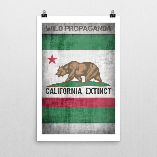 Grizzly - CALIFORNIA EXTINCT - Poster