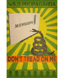 Monsanto - Don't tread on me - Women's scoop neck T-shirt
